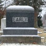 early grave
